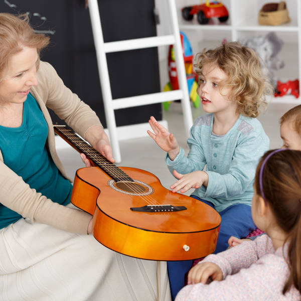 music activity with kids afterschool